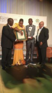 Unathi Mvakwendlu, awarded as the best Sportsman of the Year with a Disability for his involvement in the Inas Football World Championships in Brazil. Image: EC DSRAC