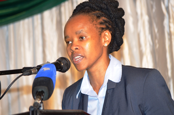 ACTING DG, PHUMLA NCAPAYI AT 7th SMME Conference