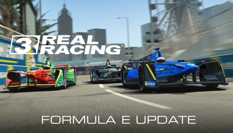 EA's RR3; December Evolution: Formula E